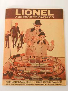 Lionel Model Train Railroad 1960 VINTAGE LIONEL TRAINS Accessories Catalog Book