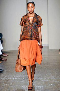 batik at Donna Karan