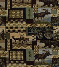 Home Decor Upholstery Fabric-Regal Fabrics Peters Cabin Joann Fabrics Online Stone