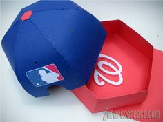 Inside and back of baseball cap. Fun and Games SVG Kit. http://icraft2create.com