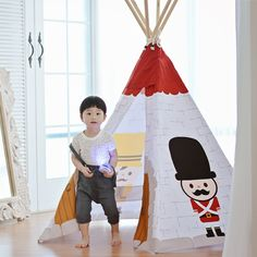 Looka Tent is famous play tent for kids in South Korea. #Looka Tent #루카텐트 #인디언텐트 #Indian tent