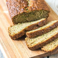 Low Carb Zucchinibrot