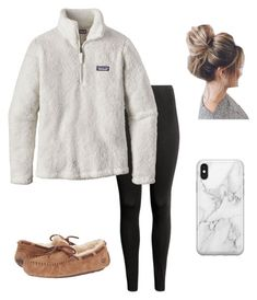 Feb 2020 - A fashion look from March 2018 by kkayyllee featuring Patagonia, UGG Australia and Recover Cute Outfits With Leggings, Cute Lazy Outfits, Teenage Girl Outfits, Cute Outfits For School, Teen Fashion Outfits, Sporty Outfits, Teenager Outfits, Athletic Outfits, Outfits For Teens