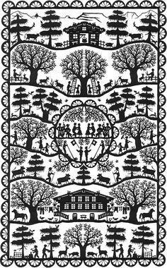 Swiss Papercutting