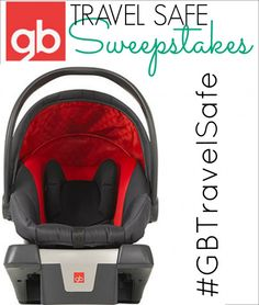 GB Travel Safe Sweepstakes! You could #win a $500 Babies R Us gift card, GB Car seat/Stroller system and much more!!