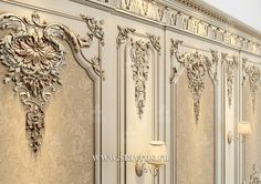 Decoration Baroque, Gypsum Decoration, Classic Living Room, Classic House, Classic Interior, French Interior, Luxury Decor, Luxury Interior Design, Ceiling Design