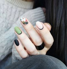 """If you're unfamiliar with nail trends and you hear the words """"coffin nails,"""" what comes to mind? It's not nails with coffins drawn on them. It's long nails with a square tip, and the look has. Spring Nail Colors, Spring Nail Art, Spring Nails, Summer Nails, Latest Nail Designs, Nail Art Designs, Nails Design, Stylish Nails, Trendy Nails"""