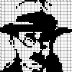 Fernando Pessoa em grelha de Palavras Cruzadas...