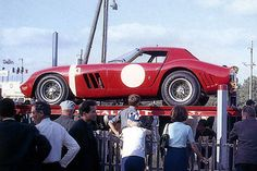 24 heures du Mans 1964 - Ferrari 250 GTO #26 - Pilotes : Ed Hugus / José Rosinski - Abandon