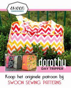 ons Erika - patroontjes en werkbeschrijvingen: Dorothy Day Tripper Bag - Nederlandse vertaling