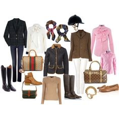 equestrian style - the Dubarry's are missing!