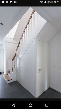 Treppe - Garderobe ideen - Treppe – Garderobe ideen Treppe Treppe The post Treppe appeared first on Garderobe ideen. Home Stairs Design, House Design, Under Stairs Cupboard, Attic Apartment, Stair Storage, Open Trap, House Stairs, Tile Design, Home Bedroom
