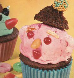 Clown Cupcakes (Betty Crocker Cookbook for Boys and Girls, 1960)