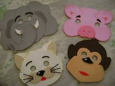 mascaras de animal - Pesquisa Google