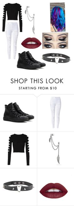 """""""Untitled #71"""" by pandacrew on Polyvore featuring interior, interiors, interior design, home, home decor, interior decorating, Converse, Cushnie Et Ochs and Bling Jewelry"""