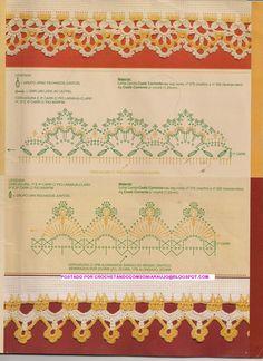 Crochet Lace Edge Border Trim