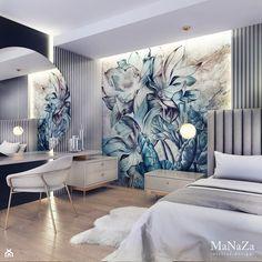 Bedroom Bed Design, Bedroom Furniture Design, Modern Bedroom Design, Home Room Design, Home Decor Furniture, Home Decor Bedroom, Modern Luxury Bedroom, Contemporary Bedroom, Luxurious Bedrooms