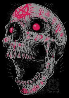 Voodoo Zombie Skull