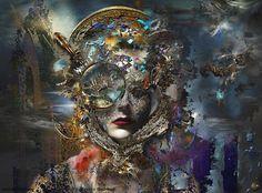 "Lydia Anneli Bleth: original art: ""Nice To Meet You"" by Werner Hornung..."
