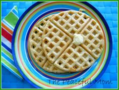 Easy Gluten Free Waffles - like, *whip a batch up nearly as easy as regular waffles* easy!