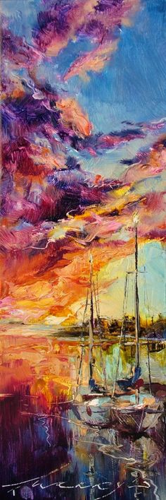 """""""Purple stroke of clouds at sunset"""", Andrew Manaylo"""