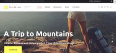 Best Travel Blog WordPress Theme