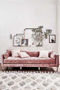 Imagen de interior, home, and sofa