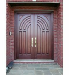 Residential Doors - Discover home design ideas, furniture, browse photos and plan projects at HG Design Ideas - connecting homeowners with the latest trends in home design & remodeling Wooden Glass Door, Double Door Design, Doors Interior Modern, Door Design, Door Entryway, Double Door Entryway, Entrance Doors, Residential Doors, Main Gate Design