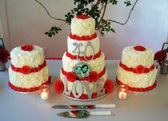 Anniversary Cakes - 40th anniversary cake