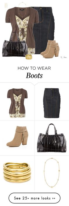 """""""Ankle Boots"""" by ksims-1 on Polyvore featuring Burberry, River Island, Donna Karan, Chloé, Vaubel and Tory Burch"""