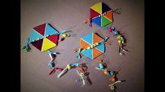 ❤ DIY - Hexagon Kite - Clay wall decoration