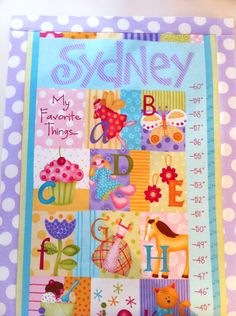 Notion of the Month: Growth Chart Pins - Fat Quarter Shop's Jolly Jabber
