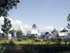 Would you move off the grid? ReGen Villages will grow their own food, produce…