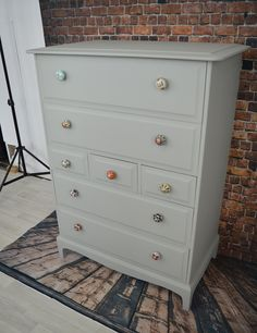 Mahogany Stag Tallboy Chest of Drawers Stag Furniture, Chalk Paint Furniture, Upcycled Furniture, Furniture Ideas, Tallboy Chest Of Drawers, Dressers, Master Suite, Diy Projects, Bedroom