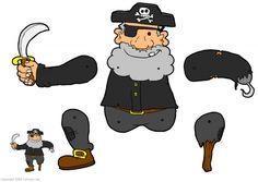 Trekpop piraat