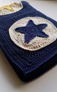 Ravelry Star Light Star Bright Baby Blanket pattern by Shelley Husband Bobble Stitch Crochet Blanket, Granny Square Crochet Pattern, Afghan Crochet Patterns, Baby Blanket Crochet, Crochet Motif, Crochet Baby, Crochet Rugs, Crochet Afghans, Crochet Stitches