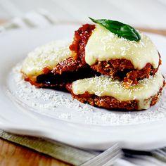 Skinny Eggplant Parmesan | Spoonful