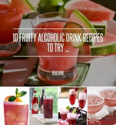 Fruity alcohol drinks on pinterest cheap mixed drinks for Easy fruity mixed drinks