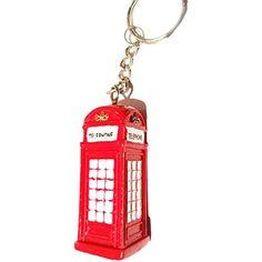 Rugged, Portable London 3D UK Red Telephone Box Keychain / Keyring Souvenir! Souvenir/Speicher/Memoria! A Distinctive, Durable London, England British UK Collectible Key Ring! #1 Metal London Souvenir! Porte-Clés/Schlüsselanhänger/Portachiavi/Llavero! S01 My London Souvenirs http://www.amazon.co.uk/dp/B00TNOJ9JW/ref=cm_sw_r_pi_dp_AuONvb0BFC5JF
