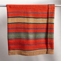 ONE-OF-A KIND CHACALTAYA BOLIVIAN THROW