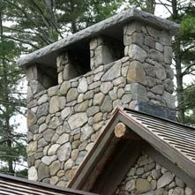 Stone Chimney Google Search Stone Chimneys Pinterest