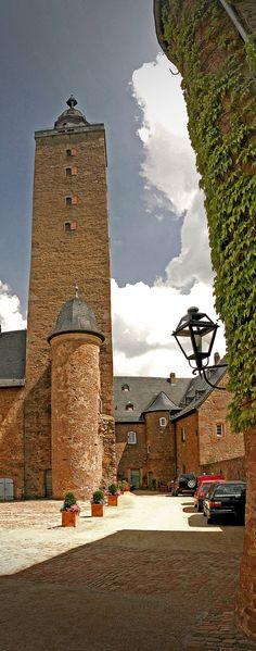 #Steinau #castle from the #Lords of #Hanau #Brothers #Brüder #Grimm #German #Fairy #Tale #MKK