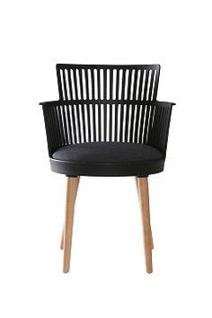 Jotex Svart GETINGE stol 2-pack
