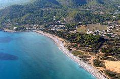 The pebble beach of Cala Codolar / #Eivissa #ibizaplayas