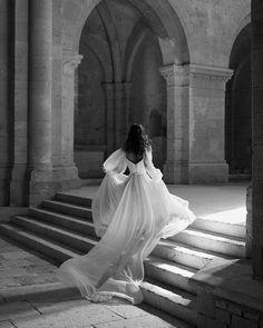 Wedding Dress by Alon Livne White Princess Aesthetic, Best Wedding Dresses, Boho Wedding, Tulle Wedding, Cinderella Wedding, Red Wedding, Floral Wedding, Ethereal Wedding Dress, Backless Wedding