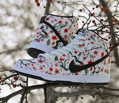"best sneakers 41502 a3e38 Nike SB Dunk High ""Cherry Blossom"""