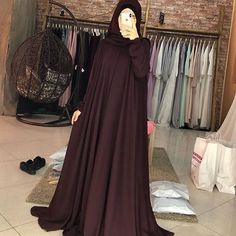 Hijab Style Dress, Hijab Look, Dress Outfits, Dress Clothes, Kurta Designs Women, Abaya Designs, Mode Abaya, Mode Hijab, Abaya Fashion