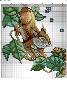 Squirrel Clock 5/8