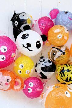 Japanese ballons.