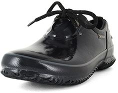Bogs Women's Urban Farmer Waterproof Shoe,Black,8 M US *** Details can be found by clicking on the image.